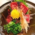 鶴屋 - ハラミのタタキ(2,150円)