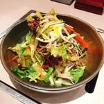 鶴屋 - 野菜サラダ