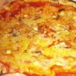 石窯バル GaBURi - アンチョビとチーズのぴざ
