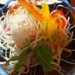 13607529 - 週替わりランチ(蕎麦サラダ)