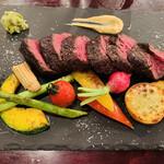 セルジオ ストロベリー - 牛ハラミステーキ