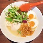 らーめん 麺GO家 - 鶏白湯 極(味玉トッピング)