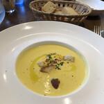 ラ ペッシュ - カボチャの冷製スープ