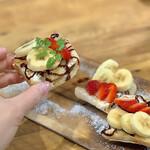 Arohakafe painappuru - フルーツトースト