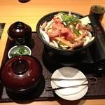 関サービスエリア(上り線)レストラン「かごの屋」 - 鶏ちゃん焼き定食