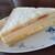 プス - 料理写真:ハムサンド。ハムサンドといいながら、玉子サンドがついてます。