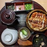 うなぎ四代目菊川 - ひつまぶし2