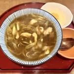 千力 - 料理写真:『カレー蕎麦+生卵』様(750円+50円)