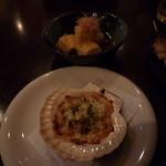 倖せ - ホタテのマヨネーズ焼き・揚げ出し豆腐