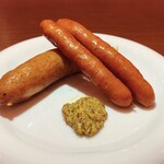 蔵VITTO - 料理写真:ソーセージ2種盛り