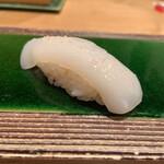 築地玉寿司 - 剣先イカ