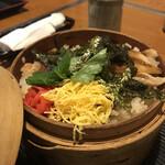 かき傳 - あなご飯ランチ900円