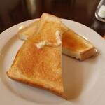 琥珀館 - トースト