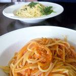 イングレッソ - ツナとトマトのパスタ