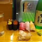 すし栄 - 日本酒♪