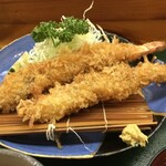 いな穂 - 料理写真:特大えびフライ