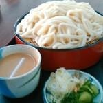 邑楽町あいあいセンター農村レストラン - 料理写真:冷や汁うどん(大盛)