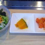 焼肉元太 - サラダ・小鉢
