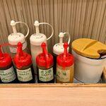 松屋 - 卓上のアイテム
