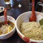 麺処 あす花 - 醤油つけ麺
