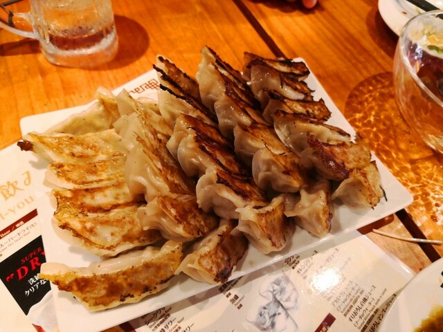 I Love Gyoza アキバの竜王 秋葉原総本店の料理の写真