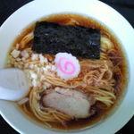 初富士 - 以前食べた中華そば(並)450円