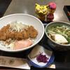 まつ本 - 料理写真:カツ丼1,500円(税込) ※ミニうどん付き