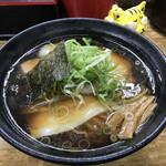 麺哲 - 肉醤油1,150円(税込)