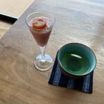 i.cafe - ドリンク写真:スイカとトマトは友達なり(笑)
