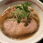 麺坊ひかり - 柳麺(醤油)