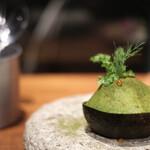 パビリオン - 八海山サーモンとアボカドの盆栽