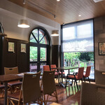 and garden museum cafe - 内観写真: