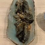 第三春美鮨 - メイチダイ皮の備長炭炙り