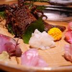 伊勢海老蕎麦 清正 - 伊勢海老と旬鮮魚のお造り