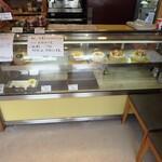 パティスリー モン アンドロワ - 本日、生菓子(ショーケースのケーキ)は、ほどんどお休みです。