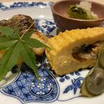 いそかみ - イサキの柚庵焼き