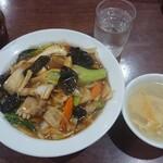 達磨 - 中華丼¥870-