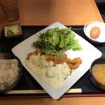 宮崎料理 万作 - チキン南蛮定食