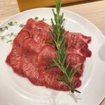 熟成和牛焼肉エイジング・ビーフ - 熟成牛タン