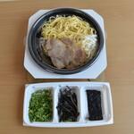 黒亭 - テイクアウトは麺・スープ・トッピングを別容器でお渡しします!