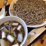 サラセン人の麦 - 料理写真:とり南そば(田舎十割)1050円