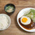 洋食の朝日 - ハンバーグ