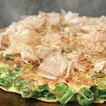 千房 - 京都の九条ねぎのみを使用したねぎ焼は特製しょうゆ味がおすすめ!
