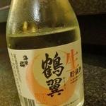 手打ちそば処 戸隠 - 生酒はこれがでてくる(700円也)。