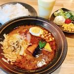 Soup Curry 笑くぼ - スープカレー/ドリンク/ランチサラダ