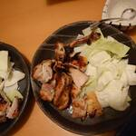 山鳥 - 料理写真:鶏