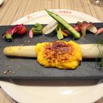 Le Petit Courageux - ホワイトアスパラの前菜 +500