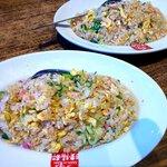 久留米ラーメン清陽軒 - 焼飯フルサイズがラーメンと一緒なら+290円