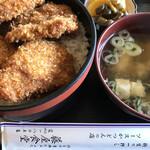 藤屋食堂 - ソースカツ丼 880円