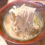 ラーメン むてっぽう - 麺 2020.8.29